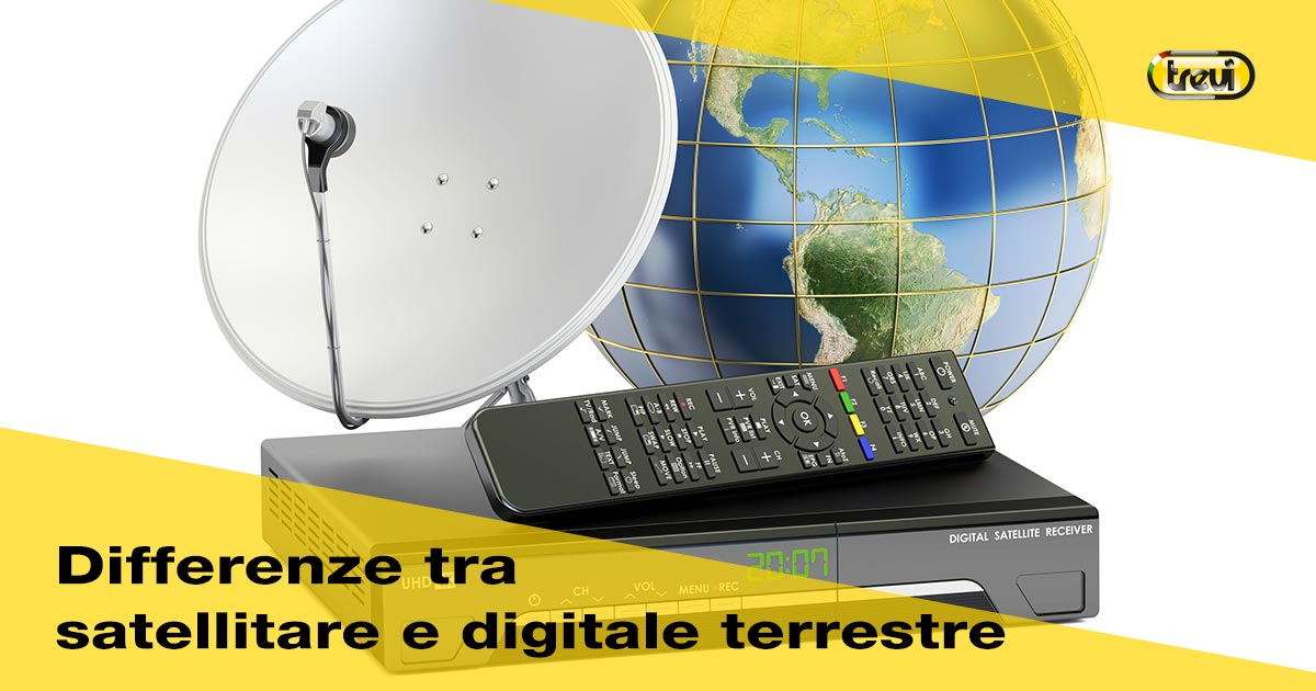 Decoder: differenza tra digitale terrestre e satellitare