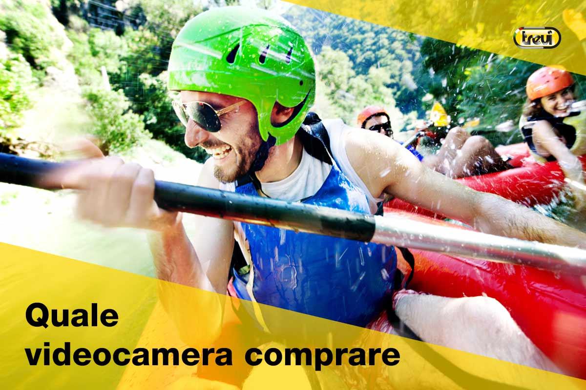 Quale videocamera comprare: canoa ripresa in soggettiva