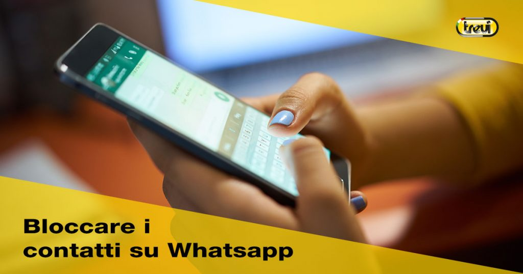 Bloccare o eliminare i contatti su Whatsapp
